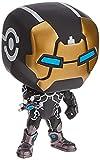 Marvel ¡Popular 80th Anniversary - Iron Man Model 39 Bobble-Head (Glow in The Dark)