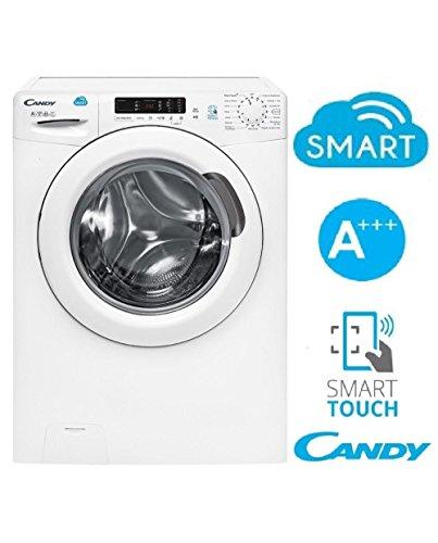 Candy CS 1272D3/1-01 lavatrice Libera installazione Caricamento frontale Bianco 7 kg 1200 Giri/min A+++