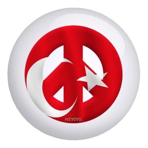 Turkey Meyoto Flag Bowling Ball (15lbs)
