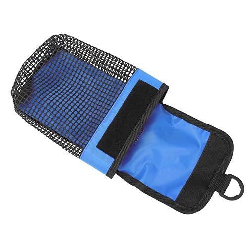 Bolsa de equipo de buceo duradera con bolsa de buceo con hebilla, para otros accesorios de buceo(blue)