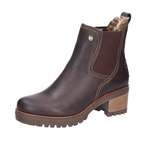Panama Jack Damen Pia Chelsea-Stiefel, Brown B013, 40 EU