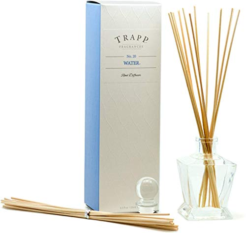 Trapp Fragrances Reed Diffuser Set, No. 20 Water, 4.5 Ounce