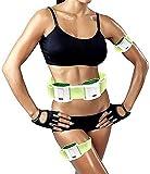 FXNB Elektrische Schlankheitsgürtel Bauch Fitnessgürtel Fat Burning Bewegung Massage Und...