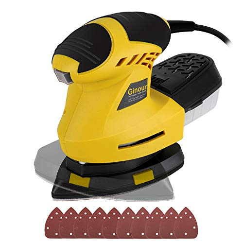 Ginour Electric Mouse Detail Sander