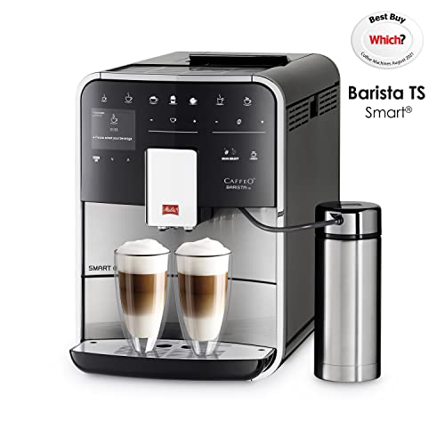 Melitta F86/0-100 Barista TS Smart Coffee Machine, 1450 W, 1.8 liters, Stainless Steel