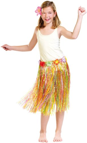 infactory Kostüm: Hawaii-Rock für Kinder (Kinder Karnevalkostüm)