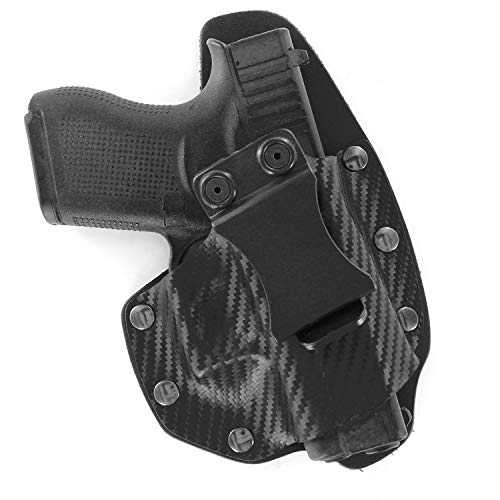 NT Hybrid IWB Black Carbon Fiber & Leather Holster (Right-Hand, for CZ 75 P07/P09)