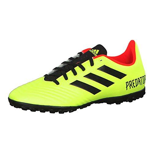 adidas Predator Tango 18.4 Tf, Scarpe da Calcio Unisex-Bambini, Giallo (Syello/Cblack/Solred Syello/Cblack/Solred), 38 EU
