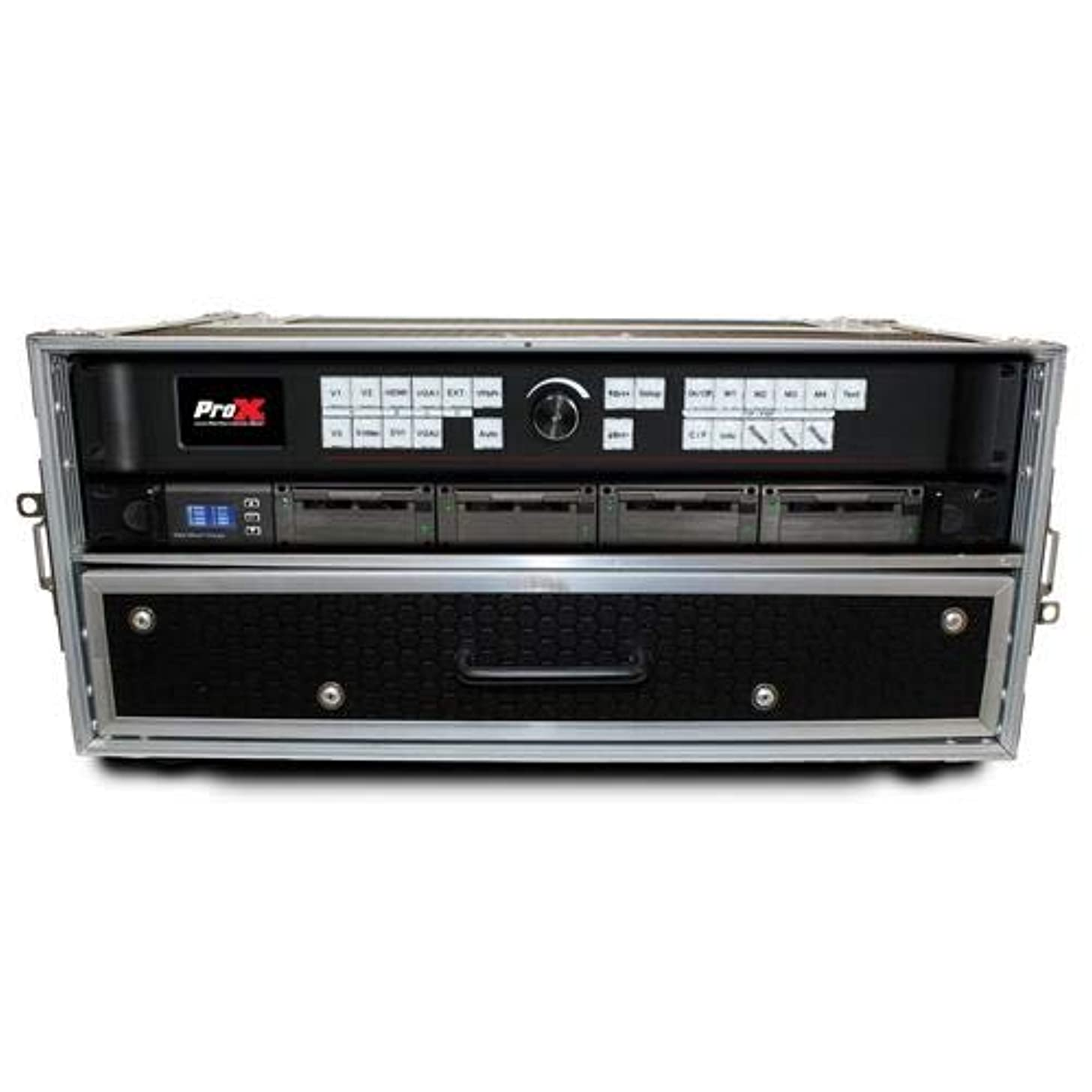 ProX XS-WM2U2DR 2U Rack Case+2U Rack Drawer For 19