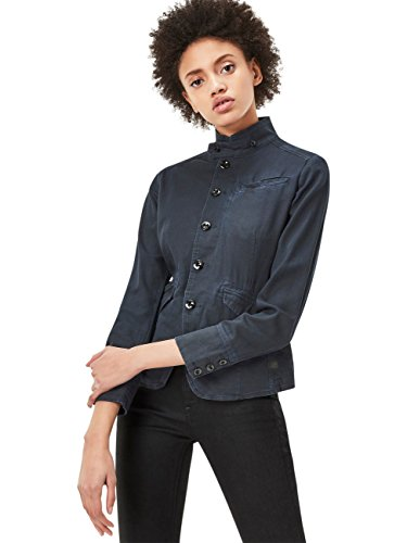 G-Star Dames Blazer Rovic - Slim Fit - Blauw