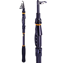 Best Telescopic Fishing Rods to buy in 2020 - Reviews & Buyer's Guide 3