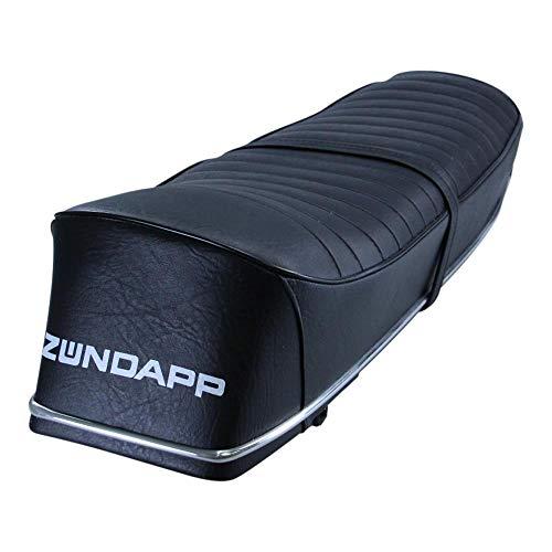 Zündapp Sitzbank schwarz mit weißem Schriftzug für GTS C KS 50 Super Sport Cross Baujahr 74-76 Typ 517 Sattel Sitz Doppelsitzbank