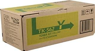 Kyocera TK-562Y FS-C5300DN FS-C5350DN P6030CDN Toner Cartridge (Yellow) in Retail Packaging