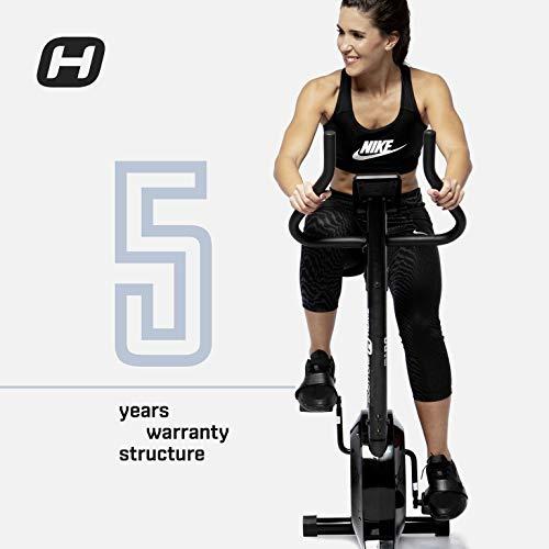 BT BODYTONE - DU-10 - Bicicleta Estática para Tus sesiones Fitness en casa - Pantalla Led y Pulsómetro - Peso Máximo Usuario 110 KG.