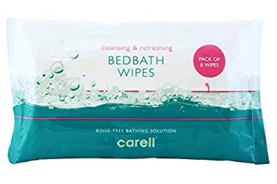 Clinell Bed Bath Wipes - Pack of 8 from Gama Healthcare