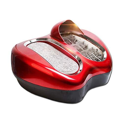 ZSQDSZ Máquina para Cubrir Zapatos Máquina de Limpieza de Suela Inteligente Máquina automática de Lavado de Zapatos Máquina de Limpieza de Zapatos pequeña para el hogar Antideslizante (Color : A)