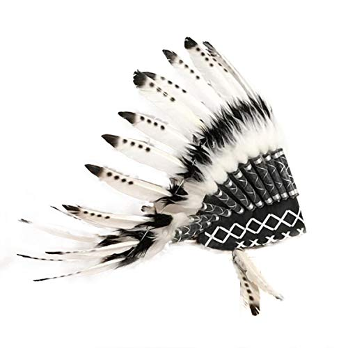 SH-RuiDu Tocado de estilo indio para adultos de Native American Headdress para accesorios de fotos de fiesta