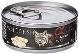 Alimento húmedo en latas para gatos 85g (Pescado Blanco)