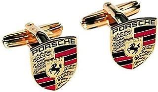 Porsche Crest Cufflinks