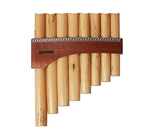 GEWA 700255 Flauti di Pan Premium Do maggiore Estensione: Do''-Do''' 8 tubi