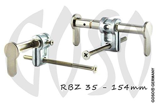 Blindzylinder für Profilzylinder-Einsteckschlösser universal variabl 35-154mm für Brandschutztüren bis T90 R0012