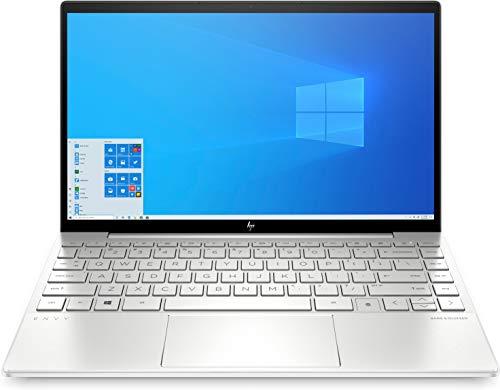 """HP Envy 13-ba1002ns - Ordenador portátil de 13.3"""" FullHD (Intel Core i7-1165G7, 16GB de RAM, 512GB SSD, Nvidia MX450-2GB, Windows 10 ) Plata - teclado QWERTY Español"""