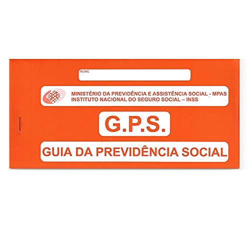 GPS GUIA PREVIDÊNCIA SOCIAL CARNÊ C/12 FOLHAS. TAMOIO