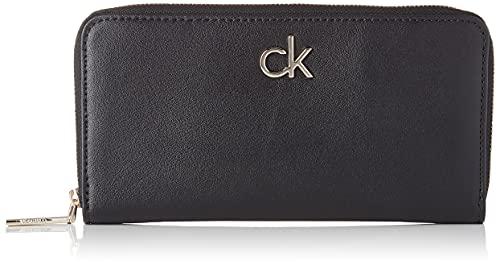 Calvin Klein CKJ Mono HARDW Soft, Accesorio Billetera de Viaje para Mujer, Muselina, One Size