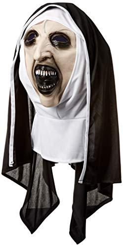 Máscara de The Nun Deluxe para adultos, Talla única (Rubie's 38978)