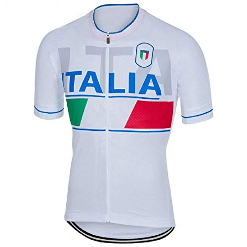 Cycling top Tour de Italy Cycling Jersey Short Jersey Ropa De Ciclismo Maillot Cycling Clothes Cycling Bicycle Clothes Jersey Hyococ (Color : 2, Size : XXX-Large)