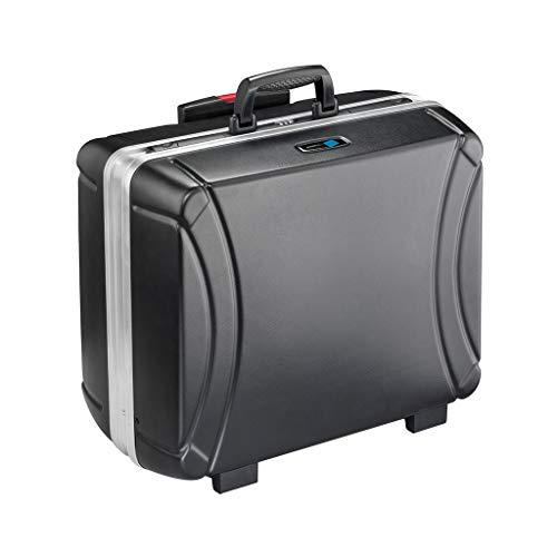 B&W Werkzeugkoffer RHINO mobil mit MODUL-Werkzeugstecksystem (Koffer aus HDPE, Volumen 42l, 48,5 x 37,3 x 23,2 cm innen) 115.04/M, ohne Werkzeug