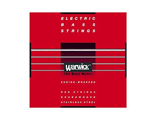 Warwick Red Label 4-String Bass Guitar StringsMedium Light - 40-100