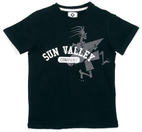 Sun Valley Junior Liyo Tee-shirt manches courtes garçon Noir 12 ans