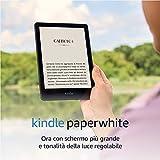 Nuovo Kindle Paperwhite (8 GB) con schermo da 6.8'' e Ronalità della luce regolabile (con pubblicità)