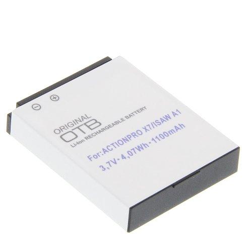 Kamera Akku für Actionpro X7 Ersatzakku Accu Batterie
