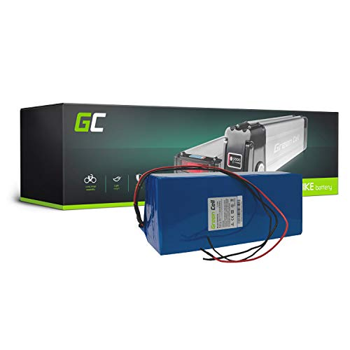 Green Cell GC Bateria Bicicleta Electrica 48V 17.4Ah con Celdas Originales Battery Pack Li-Ion