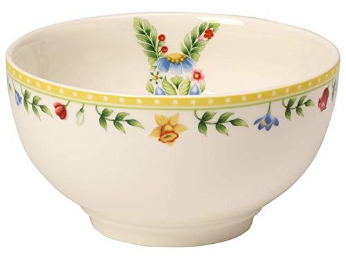 Villeroy & Boch Spring Awakening Coupelle Lapin, Porcelaine Premium, Blanc/Multicolore