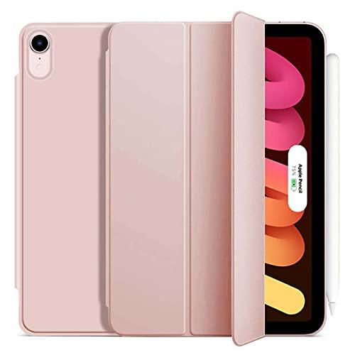 TENGFA Funda magnética para iPad Mini 6 2021 de 8,3 pulgadas, funda Trifold Smart Case con parte trasera de TPU suave
