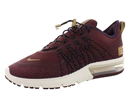 Nike Women's Air Max Sequent 4 Utility Running Shoe (9.5, Burgundy)