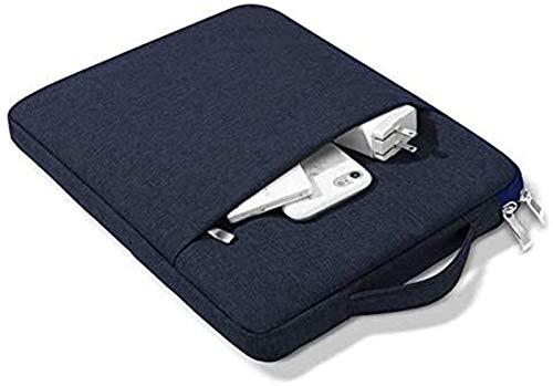 ZRH Accesorios De Pestañas para Huawei Mediéspad T3 10 AGS-W09 L09, Bolsa Protectora Bolsa De Manga De Tableta a Prueba De Golpes para MEDIAPAD T3 10 BG2-U01 (Color : Dark Blue)