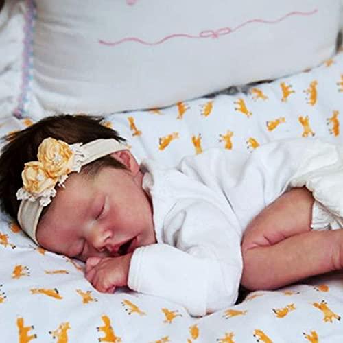 YANE Bebés Muñecas Grandes De 18 Pulgadas De Cuerpo Completo De Silicona De Aspecto Real Bebé Realista Realista Recién Nacido Muñeca Niña Mejor Regalo para Niños