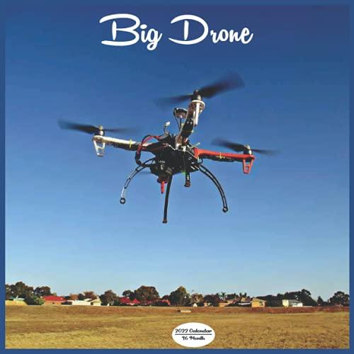 Big Drone Calendar 2022: 16 Month Squire Calendar 2022