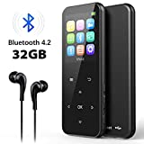 32GB MP3 Player with Bluetooth 4.2, ADOKEY Digital Music Player...