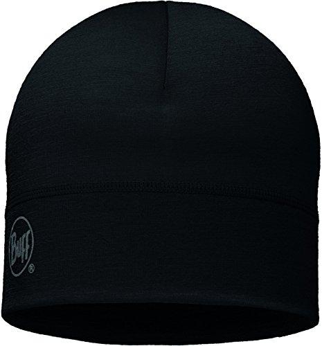 BUFF Lightweight Merino Wool Hat, Black, One Size