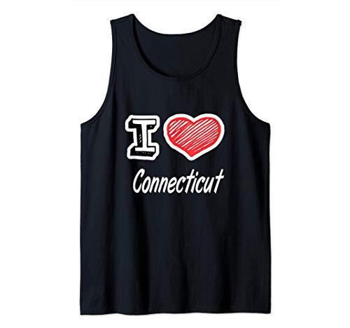 I Love Connecticut Canotta