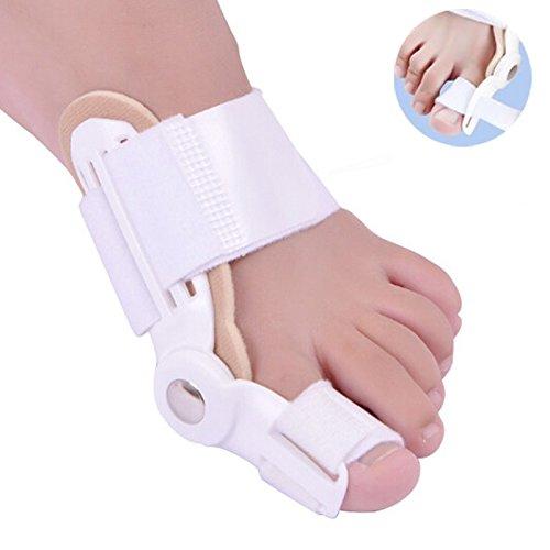 SISHUINIANHUA 1 Unid Big Bone Toe Bunion Férula enderezadora Férula, Alivio para el Dolor en los pies Hallux Valgus Pro Suministros ortopédicos Pedicura Cuidado de los pies