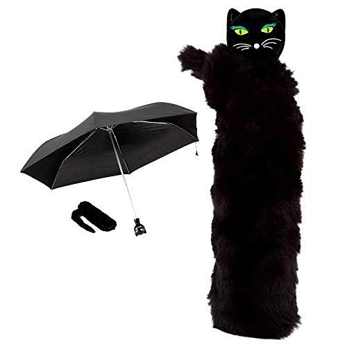 Pylones Regenschirm, faltbar, Chapka Black Cat