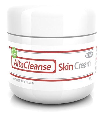 AltaCleanse Crème Pour La Peau Pour Les Tâches Points Noirs Imperfections et Problèmes De La Peau Sans Parabène 50 Grammes