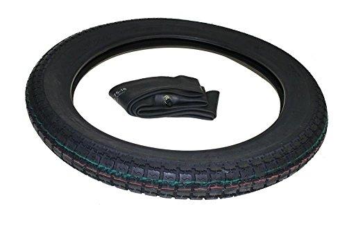 1x Reifen und Schlauch 2.75-16 für Simson Moped Mofa S53, S50, SR4-3 Sperber, SR4-4 Habicht, S51, S70, S83, KR51/1, KR51/2, SR4-1 Spatz, SR4-2 Star