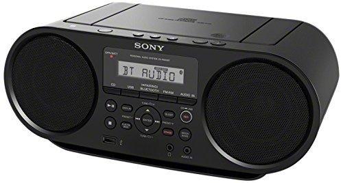 Sony Portable Bluetooth Digital Turner AM/FM CD Player Mega Bass Reflex Stereo Sound System (Renewed)